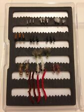 Assorted Basic Tailwater Kit Hand Tied Premium Trout Fishing Flies-Box Included!
