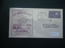 USA 1944 10th Anniversary Of Pioneer Zephyr (Om & Denver Postmark) Cover