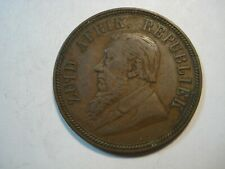 SOUTH  AFRICA   1 PENNY   1892