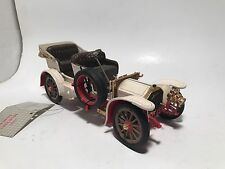 Franklin Mint 1904 Mercedes Simplex Ivory Die-Cast 1:24 *Broken