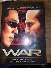 WAR  (DVD, 2007)  Jason Statham.