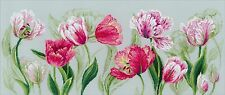 RIOLIS  100-052  SPRING TULIPS  COUNTED  CROSS STITCH  KIT