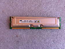 Memoria RDRAM Samsung Rambus MR16R1628AF0-CM8 256MB PC800 800MHz 184 Pin