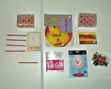 NEW Baby Shower Party Pack It's a Girl  Decor Favors Balloon Word Game Candles