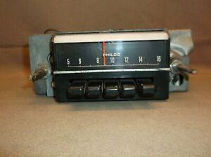 1969 FORD MUSTANG SHELBY MACH I MERCURY COUGAR ORIGINAL FOMOCO AM RADIO C9ZA
