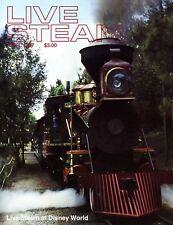 Live Steam V21 N 4 April 1987 Live Steam at Disney World