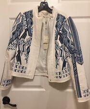 "NEW BCBG Maxazria Runway ""Freddie"" Jacket XS Blue $1398"