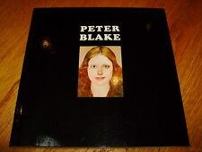 PETER BLAKE-PETER BLAKE TATE GALLERY-SIGNED-1983-PB-NF-TATE PUBLISHING-V RARE