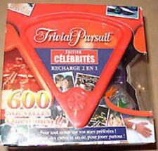 Jeu de société Trivial Pursuit Edition Célébrités - Recharge + Dé - Parker  2006