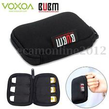 6 x USB Flash Drives BUBM Carrying Case Organizer Protector Storage Bag Pouch