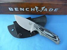 Benchmade Hunt 15016-1 Hidden Canyon Hunter Small Skinner Knife Gray/Black G-10