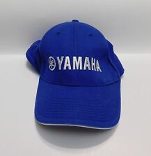 YAMAHA RACING TUNING FORK Baseball Cap Hat Adult Adjustable strap Racing Blue