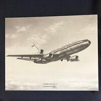 Vintage DC-10 McDonnell Douglas Vendor Aircraft Print