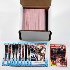 1989-90 Fleer Basketball Set with Stickers (179) Nm/Mt ^ Jordan Pippen Richmond