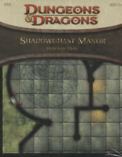 Dragones & Dragons-d&d - shadowghast Manor-mazmorra tiles-RPG-tabletop-New