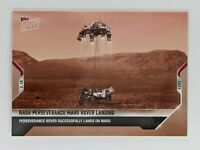 Topps Now NASA Perseverance Mars Rover Landing Card 1 In Hand Free Tracking