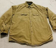 Arrow Workwear SZ L Barn Jacket Flannel Lined