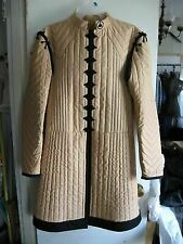 Medieval Costume Gambeson Reenactment Roman  Camel Color Fancy Design