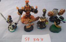 Skylanders Figure bundle - Swap Force - Chop Chop Scorp Terrafin Blast Zone +1