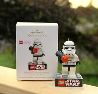2012 Star Wars Lego Imperial Stormtrooper Hallmark Keepsake Christmas Ornament