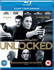Unlocked Blu-ray 2017 DVD Region 2
