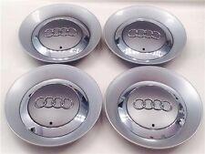 """4 Audi 2002-2005 A4 B6 CENTER CAP Hub Caps FITS: 16"""" Wheels A4 AVANT CABRIO"""
