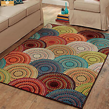 """Better Homes & Gardens Dotted Circles Gomaz Multi Color Rug 2'5"""" X 3'9"""""""