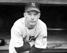 Photograph of American New York Baseball Player Mickey Mantle as a Rookie 8x10