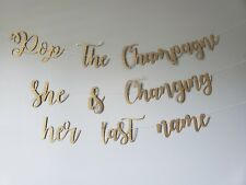 Pop The Champagne She Is Changing Her Last Name Banner