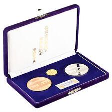 1975 Japanese Emperor & Empress US Visit Commemorative 3 Coin Set