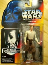 NIB Star Wars Power Of The Force Red Card Han Solo in Carbonite Freezing Chamber