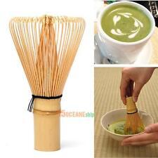 Japanese Ceremony Bamboo 64 Matcha Powder Whisk Green Tea Chasen Brush Tool