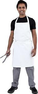 White Chef Bib Apron