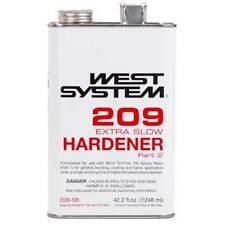 West System Boat Marine Extra Slow Hardener .33 Gallon 209SB Use with 105 Resin