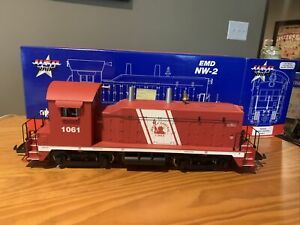 USA TRAINS R22033 Jersey Central EMD NW-2 Locomotive