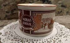 WATKINS ALMANAC *DECEMBER*1904* HANDLED SOUP BOWL