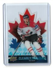2009-10 UPPER DECK CLEARLY CANADIAN #CANRN RICK NASH /100
