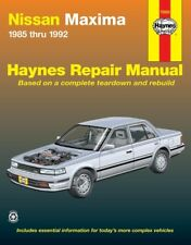 Repair Manual Haynes 72020 fits 85-92 Nissan Maxima