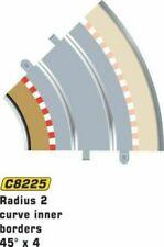 Scalextric C8225 Radius 2 Curve Inner Borders X 4