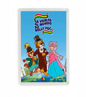 LA VUELTA AL MUNDO DE WILLY FOG SERIE DIBUJOS ANIMADOS FRIDGE MAGNET IMAN NEVERA