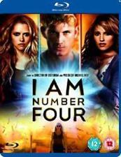 I AM NUMBER FOUR - BLU-RAY - REGION B UK