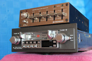 Pioneer Vintage Old School 70's-80's Set: KE-5300 with AD 30 equalizer/booster