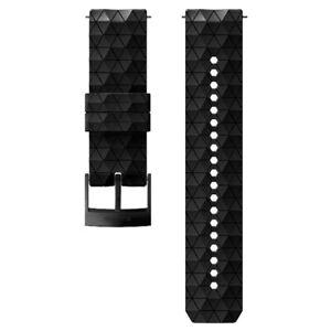 Suunto 24mm Explore 2 Silicone Strap Scuba Dive Computer Band Black SS050158000