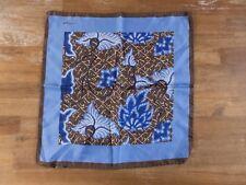KITON Napoli floral silk pocket square authentic - NWOT