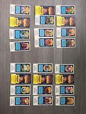 Dr Who Weetabix Cards 1977 Vintage Complete Set 24 Cards