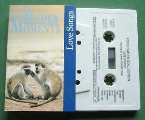 Tender Moments Love Songs Marvin Gaye Judy Tzuke + Ford Cassette Tape - TESTED