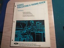 1976 Ford Lincoln Mercury service publications and training review