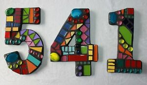 Mosaic House Numbers - NEW