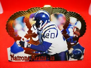 Pacific 1995 carte card football NFL NM+/M San Diego Chargers #144 Natrone Means