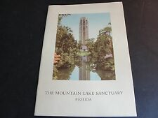 The Mountain Lake Sanctuary of Lake Wales Florida Nature Bird Haven-1950 Booklet